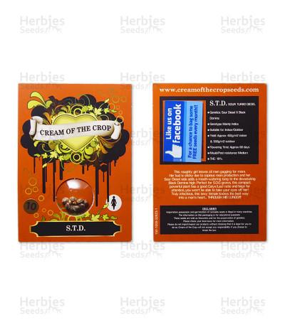 Graines de cannabis S.T.D (Cream of the Crop Seeds)